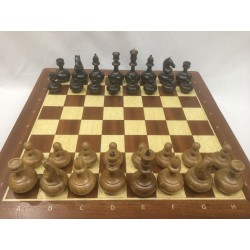 Шахматы бочонки дуб малые