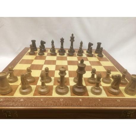 Шахматы Стаунтон, махагон