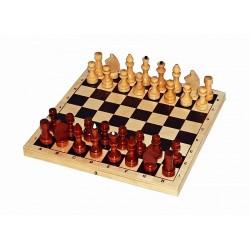 Шахматы лакированные малые с подклейкой