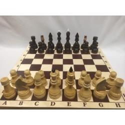 Шахматы лакированные большие