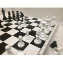Шахматы пластиковые большие Россия
